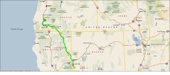 map of oregon nevada roving reports by doug p 2012 34 california to nevada