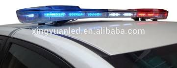 Emergency Light Bars For Trucks Red Blue Led Police Light Bar Warning Flashing Strobe Lights For