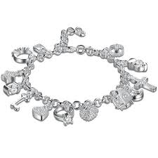 white gold crystal bracelet images Swarovski crystal charms bracelet in 18k white gold plated solid jpg