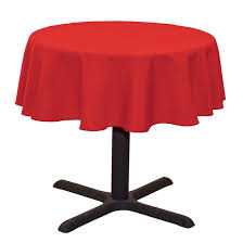 amazon com linentablecloth round cotton feel tablecloth 51 inch