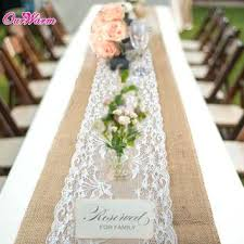 wedding runners burlap wedding runners purple wedding table runner burlap and lace