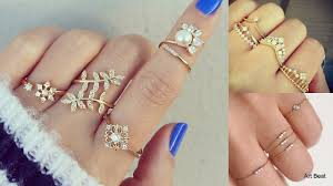 beautiful fingers rings images Beautiful gold rings designs for girls stylish trendy rings jpg