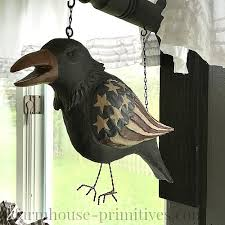 show your patriotic pride on the porch with our americana crow