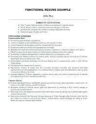exle resume summary of qualifications resume summary exles customer service manager sle executive