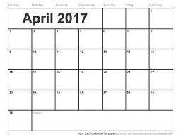 14 best free printable calendar april 2017 images on pinterest