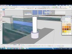 sketchup tutorial how to create a fur carpet with sketchup vray