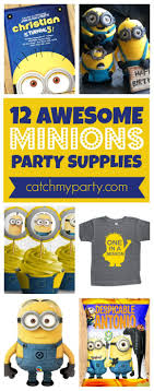 minions party supplies 12 awesome minions party supplies catch my party