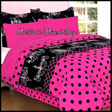 Girls Pink Chandelier Transform Girls Pink And Black Bedding Awesome Home Decor Ideas