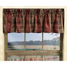 High Windows Decor High Country Rustic Valance Wilderness Window Decor Walmart Com