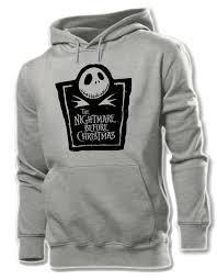 skellington the nightmare before graphic hoodie