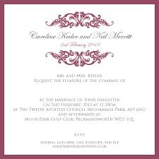 Wording Wedding Invitations Sample Wording For Wedding Invitations Gallery Invitation Design