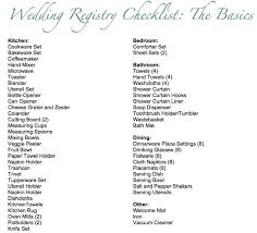 wedding donation registry basic wedding registry checklist the mr mrs
