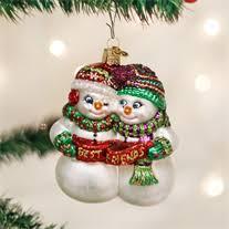 snowman ornaments world
