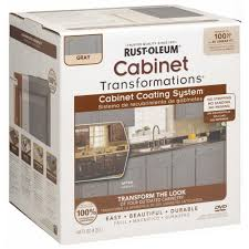 kitchen cabinet kits home depot rust oleum transformations 1 qt gray cabinet small kit