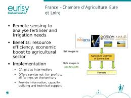 chambre agriculture eure implementing satellite information and services for agriculture