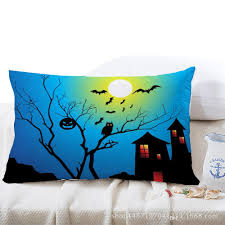 Sofa Cushion Replacement by Halloween Pumpkin Pillow Case Trick Or Treat Throw Pillow Cover