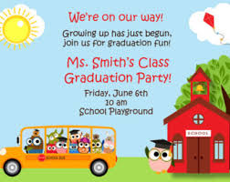 kindergarten graduation invitations graduation kindergarten preschool pre k oh the