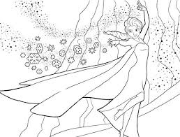 free disney u0027s frozen coloring pages