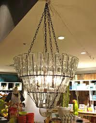 Glass Bottle Chandelier Diy Water Bottle Chandelier Home Design Ideas