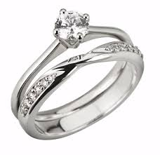 wedding rings set diamond wedding ring set wedding corners