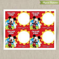 mickey mouse clubhouse printable birthday cards choose