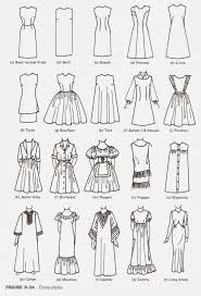 dress styles memorizing the style features tales escapades pinteres