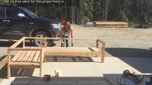 S Shaped Bench Diy Skeleton Of Authentic L Bench Only With 2 X 4 Material