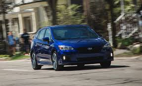 2017 subaru impreza sedan blue 2017 subaru impreza long term test review car and driver