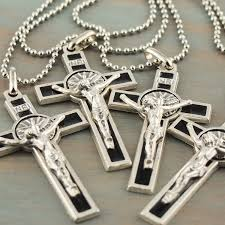 necklace crucifix cross images St benedict cross crucifix necklace jpeg