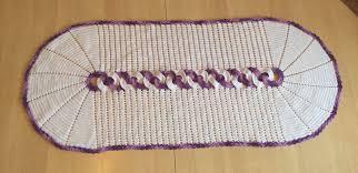 set de table originaux tuto nappe napperon cercle au crochet youtube