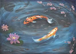 koi pond by desiree mattingly
