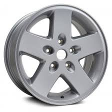 2011 jeep wrangler rims 2011 jeep wrangler replacement factory wheels rims carid com