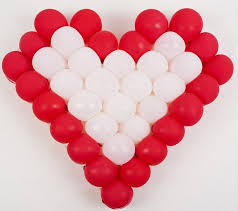 heart shaped balloons 60cm heart shaped grid balloon modelling diy birthday wedding