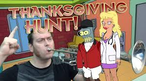 the great thanksgiving hunt futurama worlds of tomorrow