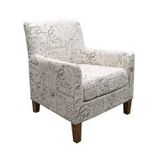 French Script Armchair The Importer Fabric Ranges