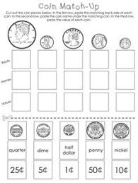 free worksheet to assess whether they can identify and match