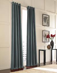 Lined Cotton Curtains Messina Opulent Velvet Lined Grommet Drape Curtainworks Com