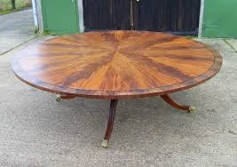 Antique Furniture Warehouse Large Antique Round Dining Table