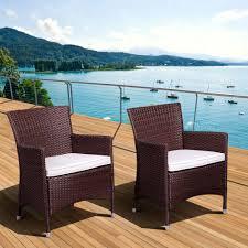 Santa Barbara Wicker Patio Furniture - atlantic contemporary lifestyle liberty deluxe brown all weather