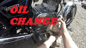 how to change oil in a motorcycle suzuki gn250 by nzwrexer youtube