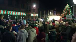 barrow in furness christmas light switch on 2016 youtube