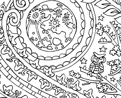 yin yang moon and sun candyhippie coloring pages