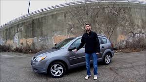 2003 pontiac vibe gt review matrix xrs youtube