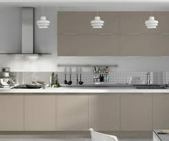 couleur de meuble de cuisine cuisine gris taupe