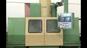 mori seiki mv55 50 vertical machining center 4 axis vmc youtube