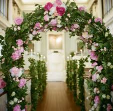 wedding arches decorated with flowers wedding ceremony ideas 13 décor ideas for a church wedding