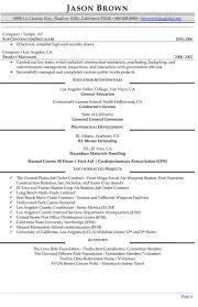Construction Resume Template Management Resume Exles Resume Professional Writers