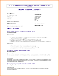 Resume Profile Sample Student Resume Templates Student Resume Template Gallery Resume