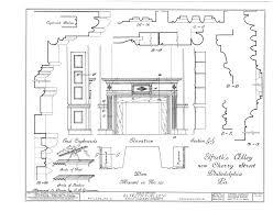 blacksmith shop floor plans elfreth u0027s alley