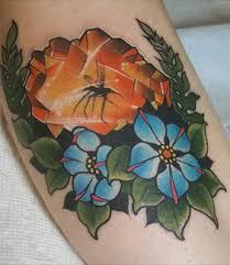 sacred lotus tattoo